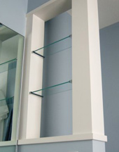 two glass shelves in Ankeny and Des Moines area